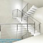 Cầu thang inox 04