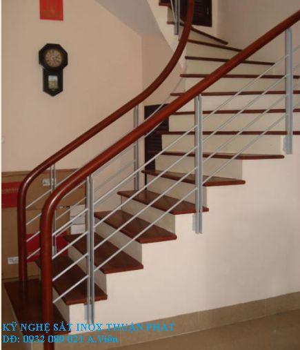 mẫu cầu thang sắt 03