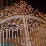 Cửa cổng sắt biệt thự