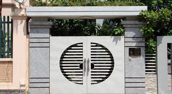 Cổng nhà ĐẸP đơn giản và tinh tế