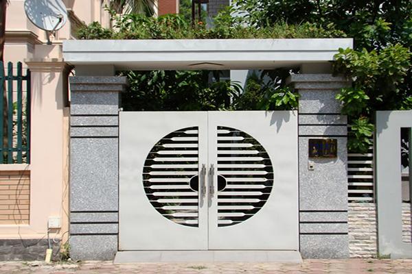 Hình ảnh cổng nhà đẹp đơn giản