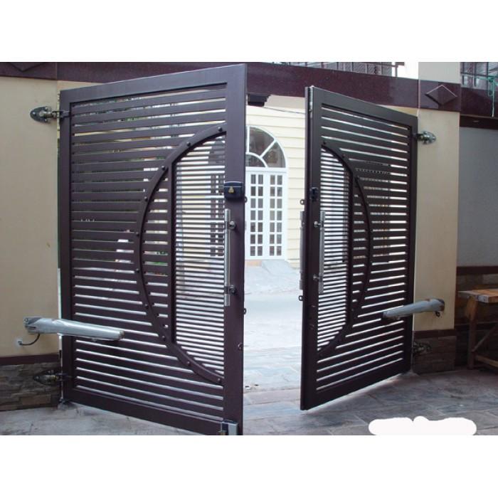 Hình ảnh cửa sắt đi 2 cánh