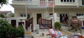 THUẬN PHÁT hoàn thành CÔNG TRÌNH làm cửa cổng sắt 2 cánh ở quận 9 TpHCM