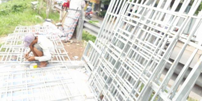 THUẬN PHÁT hoàn thành CÔNG TRÌNH làm KHUNG BẢO VỆ tại quận 1 TpHCM