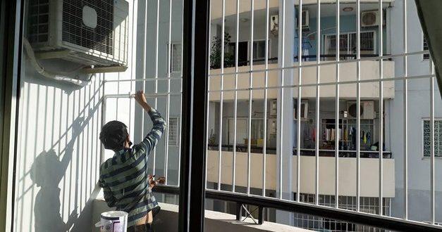 THUẬN PHÁT làm KHUNG BẢO VỆ INOX tại quận 7 TpHCM