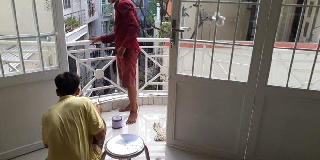 Cửa sắt PANO lắp đặt cho nhà phố