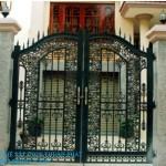 Mẫu cửa cổng sắt đẹp 06