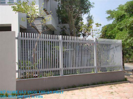 Mẫu hàng rào sắt 04
