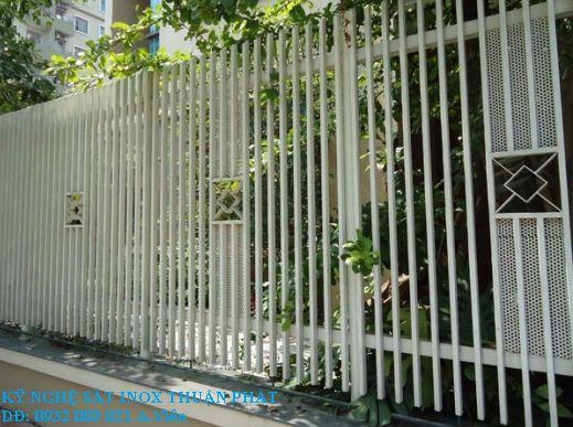 Mẫu hàng rào sắt 05