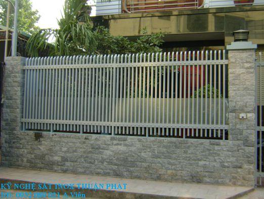 Mẫu hàng rào sắt 06