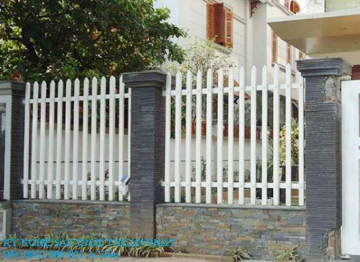 Mẫu hàng rào sắt 07
