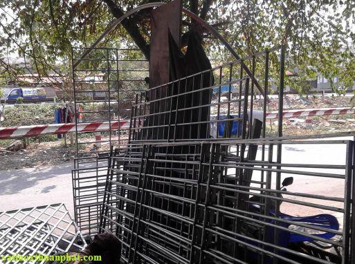 Khung bảo vệ inox tại Tân Phú