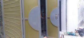 Cửa cổng, cửa sắt, cầu thang, mái ngói lắp đặt cho nhà phố