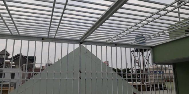 Khung bảo vệ lắp nhà anh Tân Quận Bình Tân