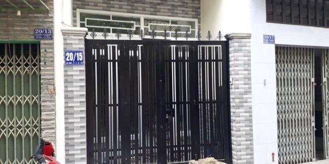 Lắp cửa cổng sắt nhà phố quận Phú Nhuận