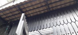 Lắp Mái Ngói Cửa Cổng Cho Nhà Phố