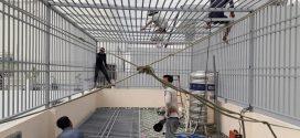 Hoạt động lắp đặt khung bảo vệ nhà phố cho khách hàng quận Bình Tân